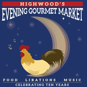 Highwood Evening Gourmet Market<br />June 6 - Aug 29, 2018