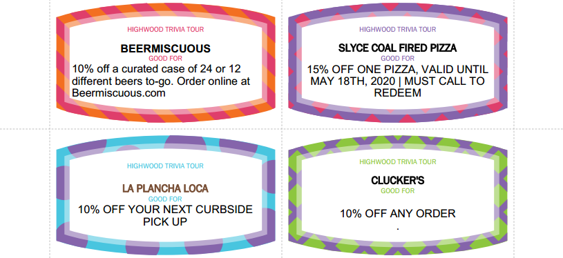 Highwood Trivia Tour II Coupons-3